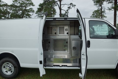 Animal Control Vehicles In Stock Vans And Slide In 501
