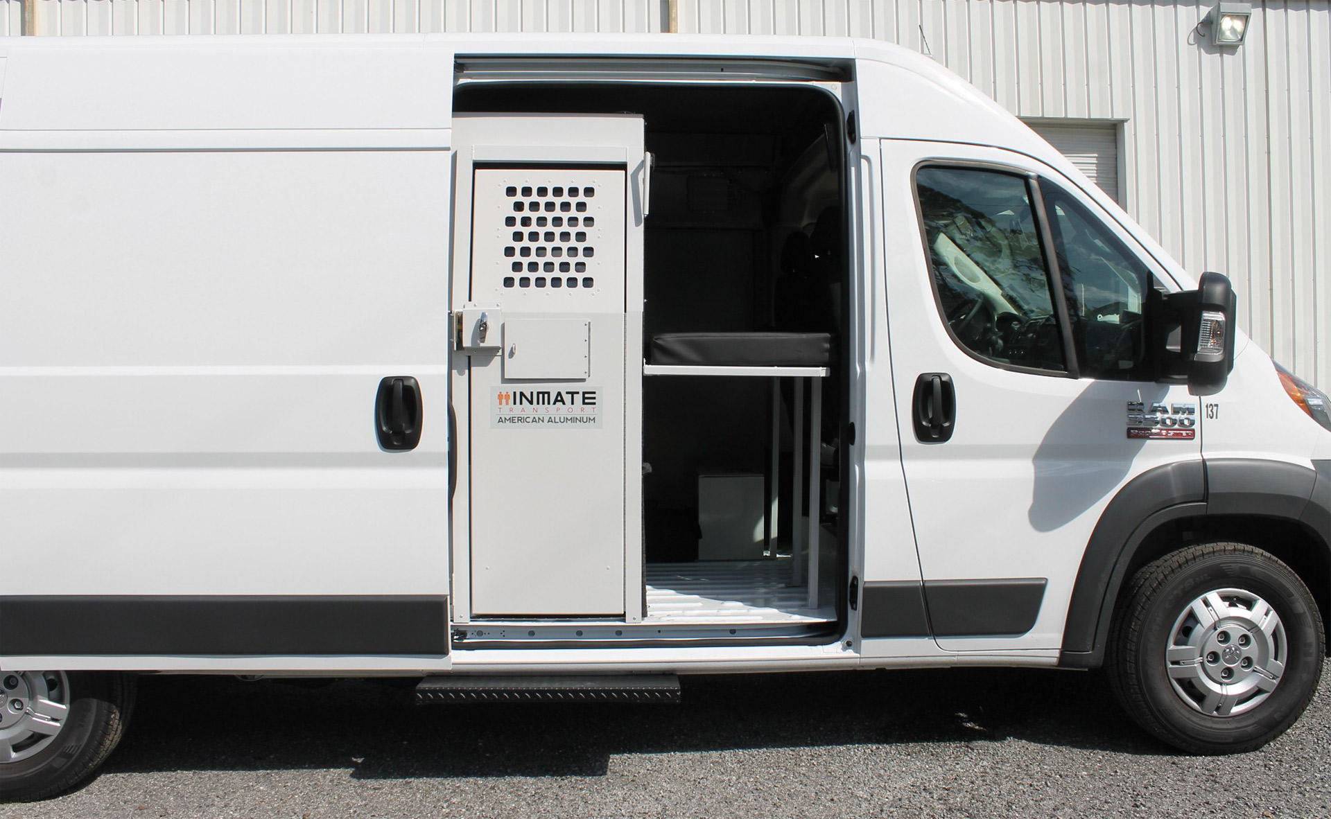 inmate transfer vans in stock